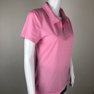 Champion Tops - Champion Pink Women's Polo Size M